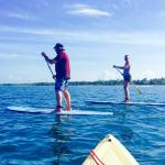 First time paddleboarding- it was a blast!