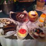 Unbelievable dessert tray!