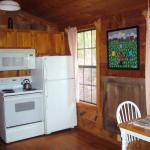 Kitchen In Flying Bridge Cabin
