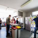 YHA Christchurch kitchen