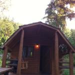 Sicamous KOA Cabin Outside