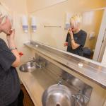 YHA Christchurch Rolleston House bathroom