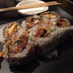 Krabby roll (eel, avocado, crab)