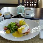 Eggs Bene breakfast!  Perfect