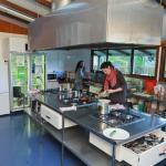 YHA Te Anau kitchen