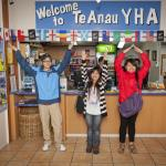 YHA Te Anau reception