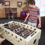 YHA Nelson games room