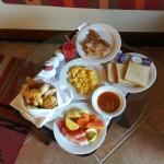 Breakfast.... room service.. if your too lazy to go for the buffet