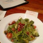 spinach salad at Goods diner