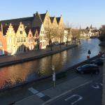 Beautiful view of the canal from our room