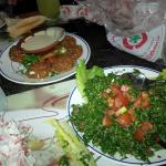Falafel e Taboulleh libanese