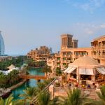 Madinat Jumeirah with Burj Al Arab in the backgroud