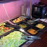 Little salad buffet