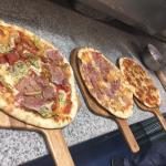 Our delicious hand crafted pizza