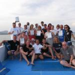 Thailand Divers and a great group completing their discover scuba diving experience