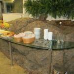 Buffet do café da manhã