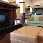 Lobby Fire Place and Seating
