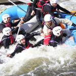 White Water Rafting at Holme Pierrepont, Nottingham