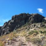 Subiendo al Cerro Leones