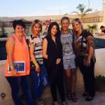 Sur la terrasse du Riad Agathe