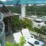 terrasse piscine sur le toit du 8è