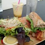Enjoyed my first visit, my and juiced drink were amazing! So happy to live close by and definite