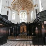 Interior of St Clement Danes