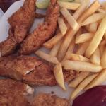 Chicken strips n fries