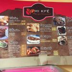The menu - $3 (45 pesos) goes a long way!