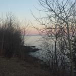 view of Lake Superior from property