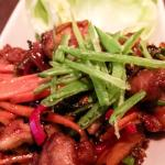 Lettuce Cups with Szechuan Glazed Chicken...