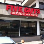 Five Guys Burgers and Fries in Missoula Montana