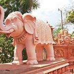 New Carved Elephant at the Jain Temple (2015)
