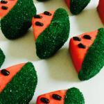 Fudge watermelons!