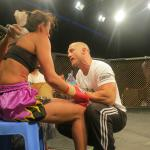 Milena on the Inaugural GFC Fight Series in Dubai