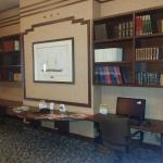 Library/business corner