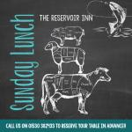 Walk the Reservoir then try our amazing Sunday lunch!