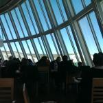 Frontscheibe im Panoramarestaurant