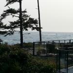 View towards patio