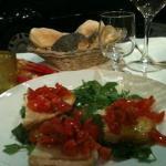 Bruccetta starter