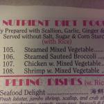 Nutrient Diet Food