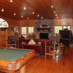 Game room in Lodge 1