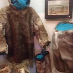 Inuit hunting clothes.