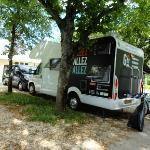 Des emplacements stabilisés pour les camping caristes
