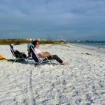 Relaxing on Siesta Key Beach
