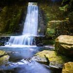 Waterfall at Wepre Park. #wales #deeside #adamtasimages