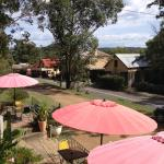 From the balcony of Wollombi Cafe