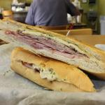 Hot Pressed Cuban Sandwich at the Latin American Cafe