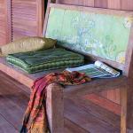 Thoughtful details, luxury fabrics, art...
