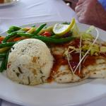 Grilled grouper Pan Asian